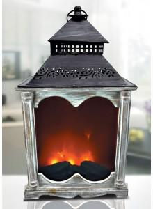 The Grange Fireplace Lantern - 31x19x55