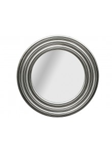 The Grange Collection Silver Round Mirror