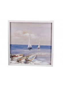 The Grange Collection Seaview Painting - 60cm x 60cm