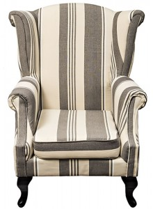 The Grange Collection Arm Chair - 85x75x105 - Linen