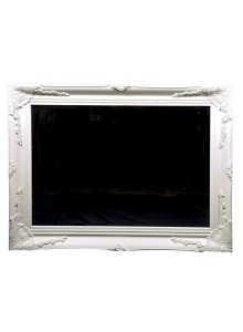 Chateaux Mirror 24 x 36 White