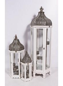 The Grange Interiors Set of 3 Lanterns